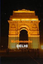 Kathmandu (KTM) to Delhi (DEL) Flights