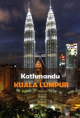 Kathmandu (KTM) to Kuala Lumpur (KUL) Flights