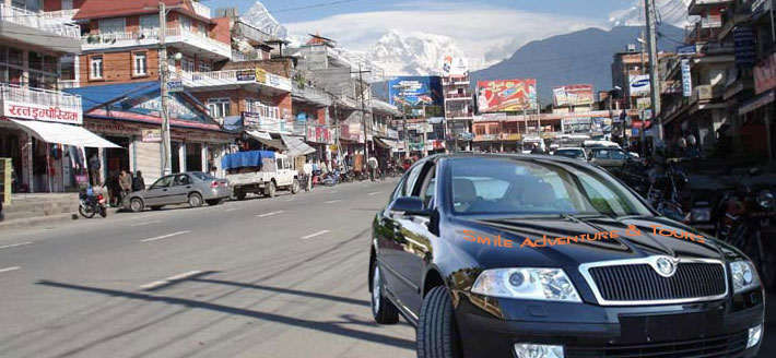 Rent a CAR in Nepal