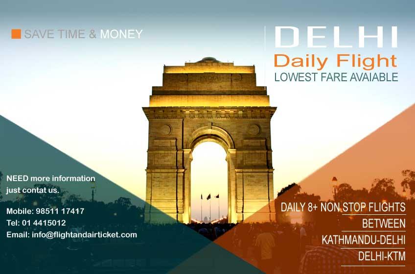 nepal flights from delhi