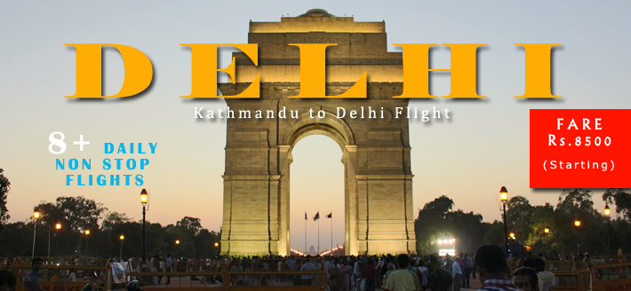 Kathmandu to Delhi Flights