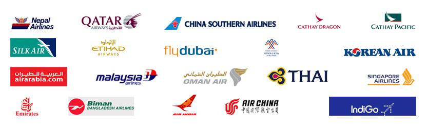 Travel Agency in Kathmandu deals international air ticket