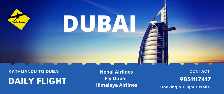 Kathmandu to Dubai Flight
